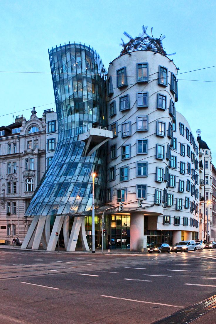 Dancing house prague czech republic visit czech for Quirky hotels in prague