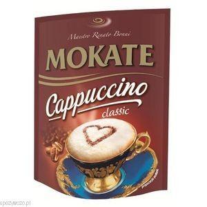 Cappuccino CLASSIC 110g opak.10 MOKATE | http://www.spozywczo.pl/hurtownia-kawy-herbaty