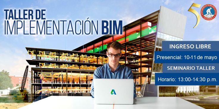 Estimados, tenemos el gusto de invitarlos a nuestro Taller Gratuito: BIM Modelado de Información para Construcción.El objetivo del taller es experimentar en entornos de trabajo conceptuales, con una variedad de herramientas de la plataforma BIM de #Autodesk.