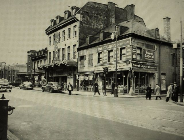 66 best images about montreal 1940s on pinterest for Meubles montreal rue st laurent