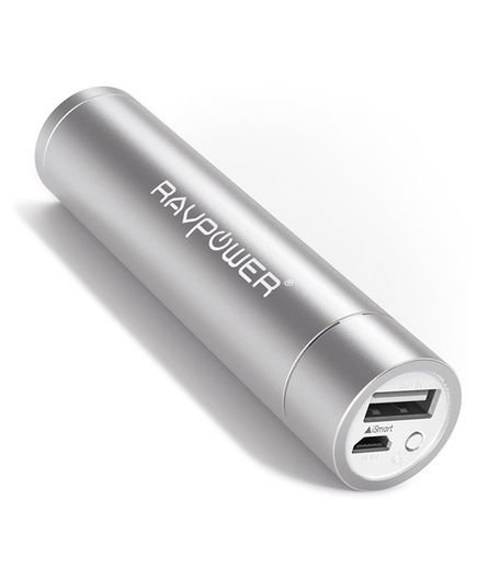 RAVPower Luster 3000mAh Mini Portable Charger | A set of Twin XL sheets, memo board, and flip-flops can only get a college freshman so far. Add these clever budget finds to your back-to-school shopping list.