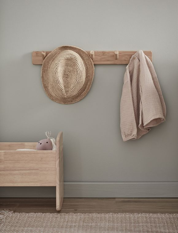 Hakenleiste Aus Holz Garderobenleiste Holz Hakenleiste Und