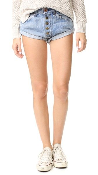One Teaspoon Vintage Bandit Shorts