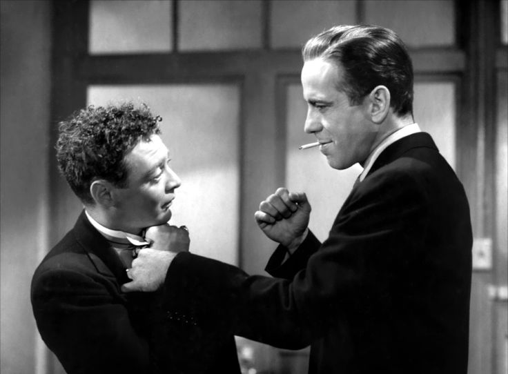 Peter Lorre and Humphrey Bogart - The Maltese Falcon