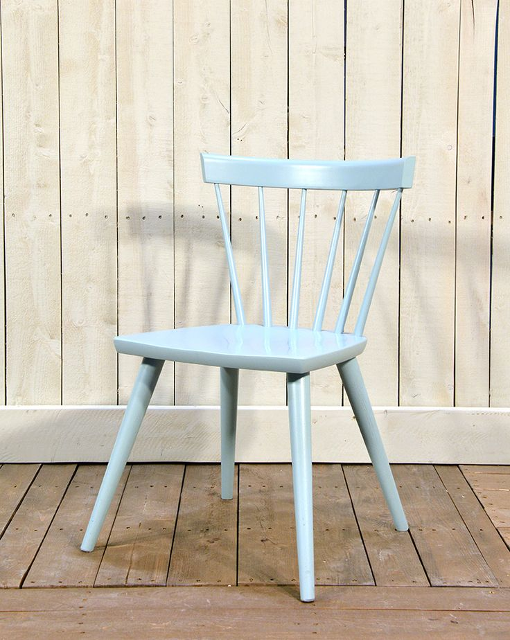 Cottage Life Sticks Chair in Maple Dusk - Wooden Painted Chair - Oaksmith Interiors