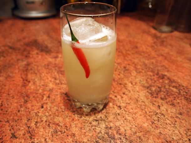 """Updated """"Prairie Fire"""" (Not Really) #cocktails #mixology"""