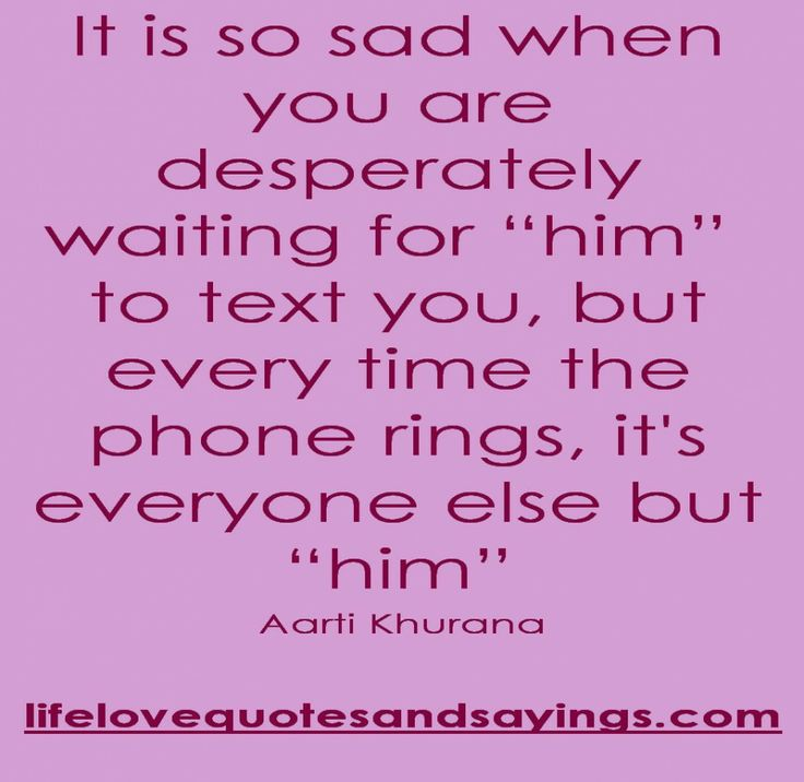 Wonderful Love Quotes About Waiting: It Is So Sad When You Are Desperately Waiting For Someone Quote ~ Mactoons Life Inspiration