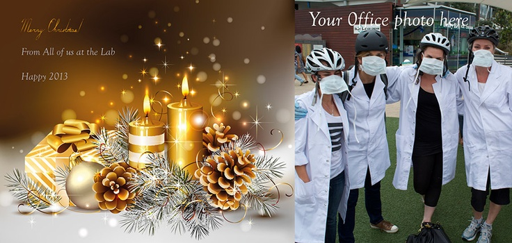 Put you staff photo on your Christmas Cards — Cardsandinvites. Printed cards have a much bigger impact than ecards