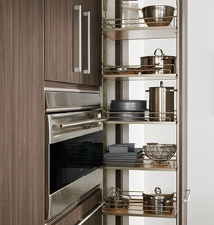 Storage & Convenience | Wood-Mode | Fine Custom Cabinetry