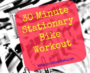 30 minute stationary bike workout to burn fat and calories.