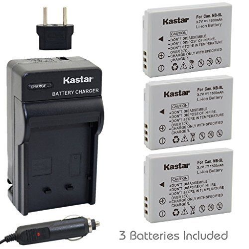 Kastar NB-5L Battery (3-Pack) and Charger for Canon PowerShot S100, S110, SD700, SD790, SD800, SD850, SD870 IS, SD880, SD890, SD900, SD950, SD970 IS, SD990 IS, SX200 IS, SX210 IS, SX220 IS, SX230 HS review - https://www.bestseller.ws/blog/camera-and-photo/kastar-nb-5l-battery-3-pack-and-charger-for-canon-powershot-s100-s110-sd700-sd790-sd800-sd850-sd870-is-sd880-sd890-sd900-sd950-sd970-is-sd990-is-sx200-is-sx210-is-sx220-is-sx230-hs-r/