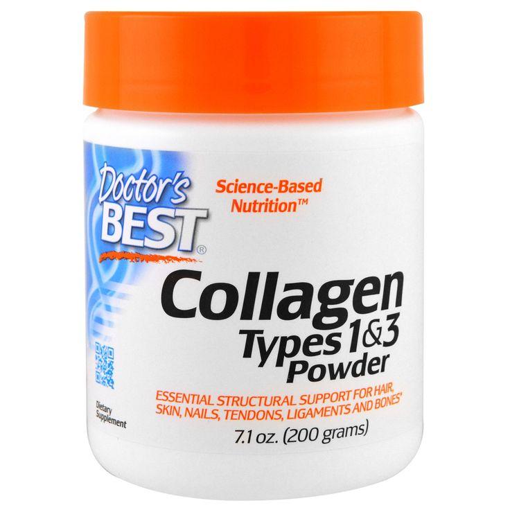 Doctor's Best, Best Collagen, Types 1 & 3, Powder, 7.1 oz (200 g)