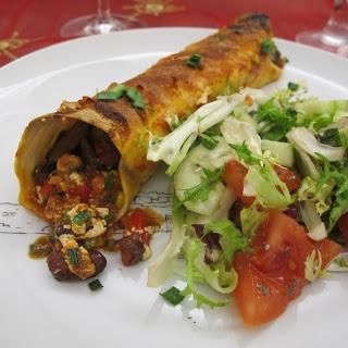 Cozinhar sem lactose: Enchiladas vegetarianas
