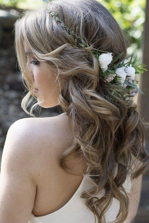 Top 24 Half Up Half Down Wedding Hairstyles for 20…