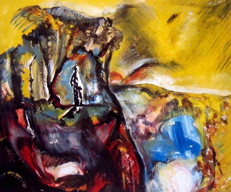 Sidney Nolan: Dimboola Landscape (1946)