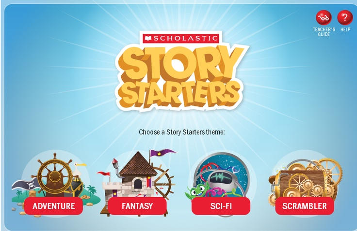 Scholastic Story Starters Creative Writing Prompts