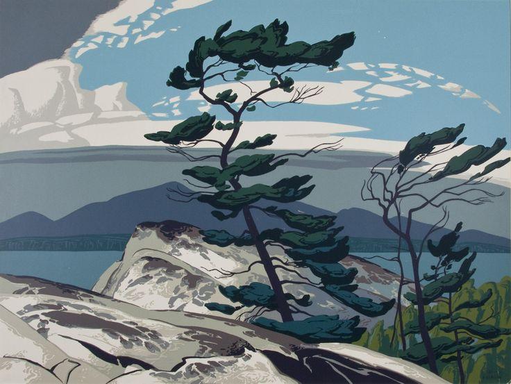 Alfred Joseph Casson, 'White Pine' at Mayberry Fine Art