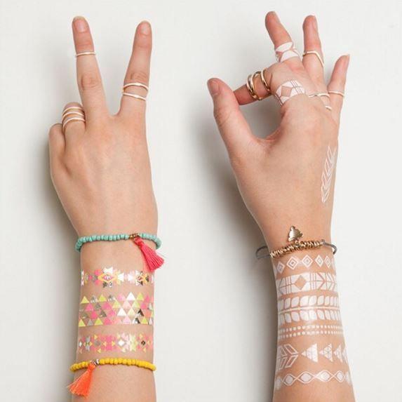 Lovisa gets your ready for festival season with temporary tattoos.