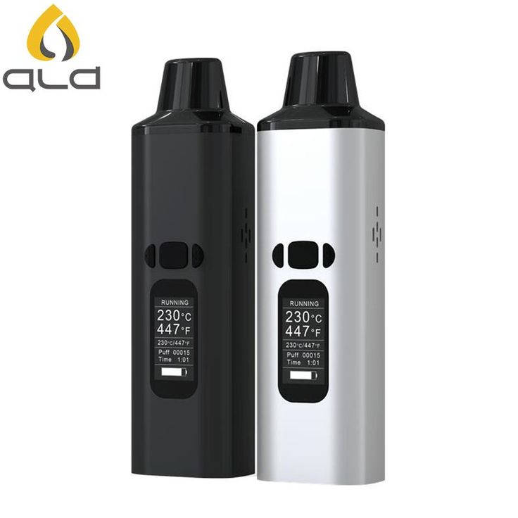 The ALD ALMAZE Dry Herb Vaporizer Kit is super portable and features Adjustable Temperature Control and large OLED Display!