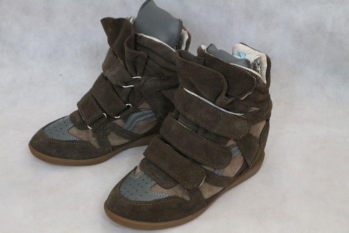 Isabel Marant - sneakers con zeppa