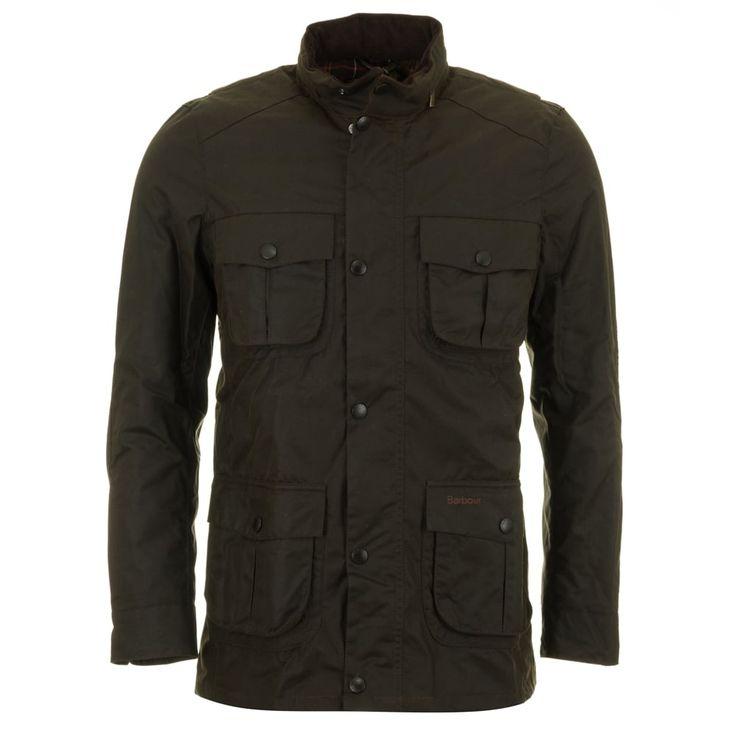 Barbour Corbridge Wax Jacket - Olive