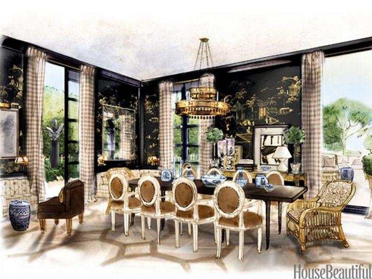 25+ best ideas about Elegant dining room on Pinterest   Elegant ...