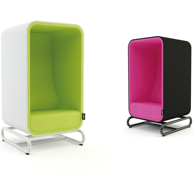 THE BOX LOUNGER The Box Lounger is a cozy box with a soft sound absorbing material on the inside that dampens outside noise. It is the perfect place for you to make a call, work on your laptop or just relax.