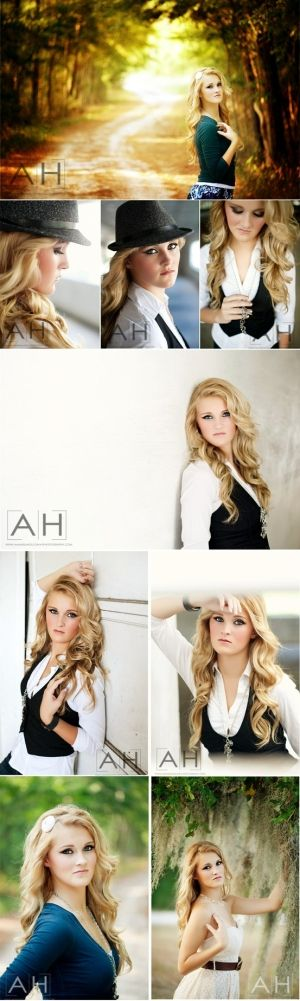 Senior Photography Poses | 12 Tips for Posing Seniors by Amanda Holloway Photography Hanging ...
