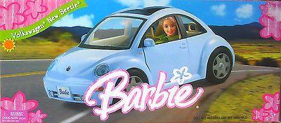 2005 VW Volkswagen Beetle Barbie Doll Car Vehicle Playset New | eBay