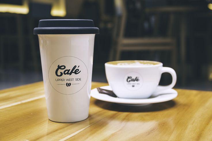 Branding details for Upper West Side Cafe, by Egg Visual Communication. www.egg.com.gr