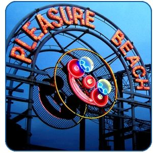 Have had lots of fun on Blackpool pleasure beach over the years