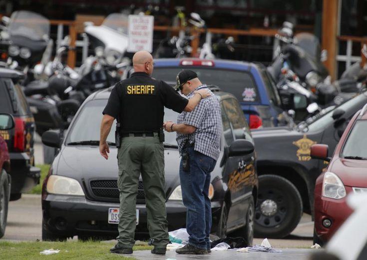 Texas biker gang shooting Law enforcement officers
