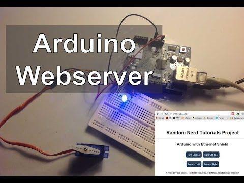 Arduino Webserver Control Lights, Relays, Servos, etc.