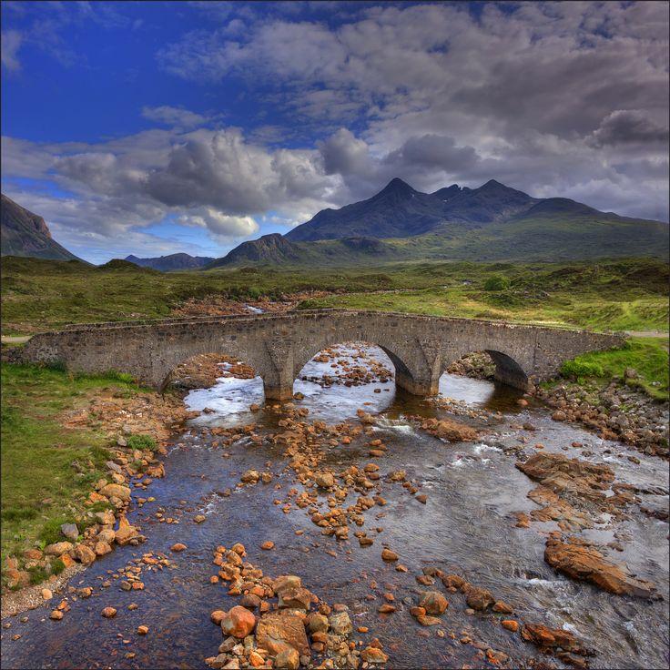 Bridge at Sligachan by Ian C Rolfe on 500px