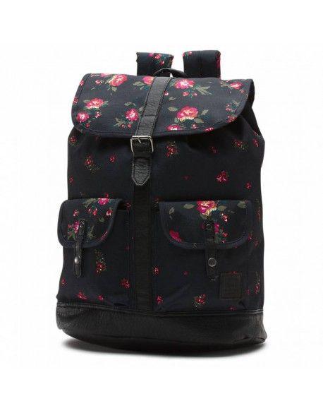 VANS W Lean In Backpack Floral Blac