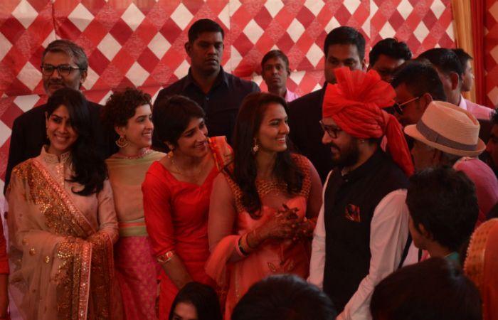 A Sneak Peek on #GeetaPhogat's Wedding Attended by #AamirKhan