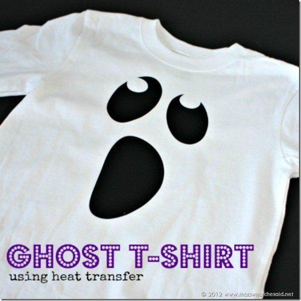 DIY SHIRT : DIY Ghost Shirt