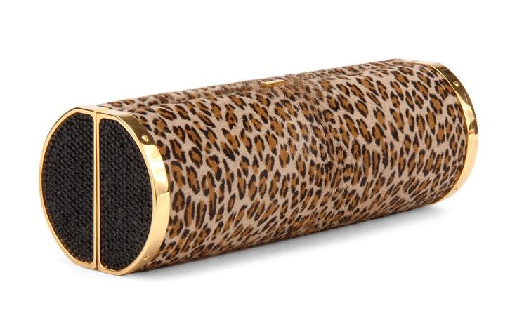 Hunting Season Leopard Roll w Swarowski Crystals