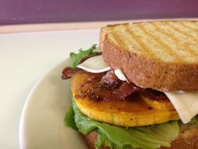 Roasted Butternut Squash Panini; fresh Arugula, Roasted Butternut ...