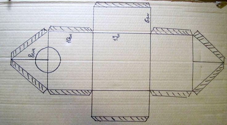 Декоративный скворечник из картона