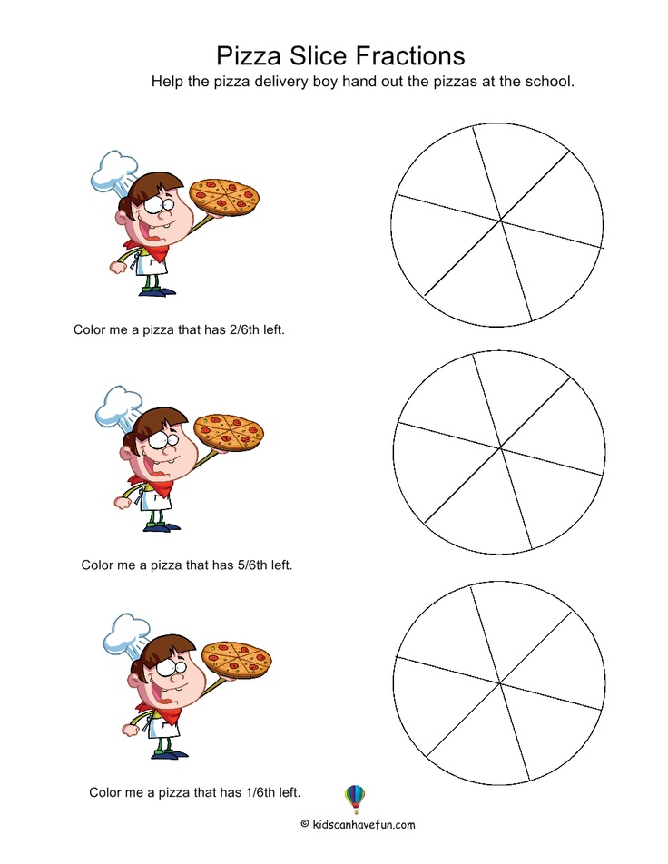 math worksheet : 1000 images about math on pinterest  fractions worksheets  : Printable Worksheets On Fractions
