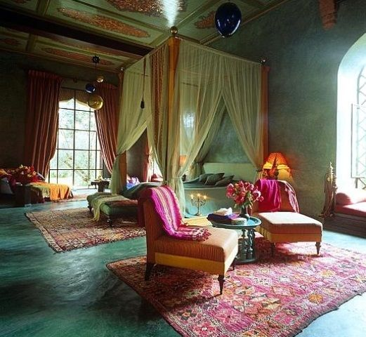 66 Mysterious Moroccan Bedroom Designs | DigsDigs