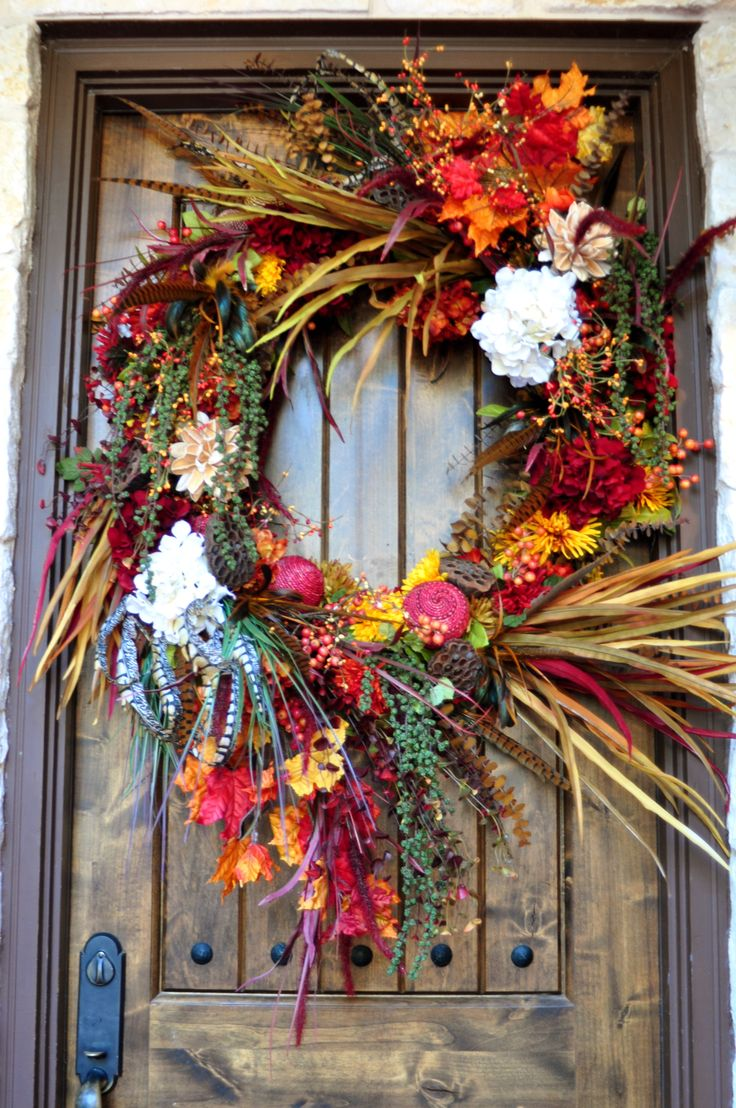 73 best wreath DIY images on Pinterest | Autumn wreaths, Fall ...
