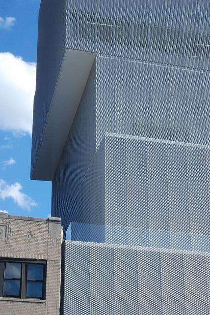 The New Museum, SANAA, New York by marcteer, via Flickr