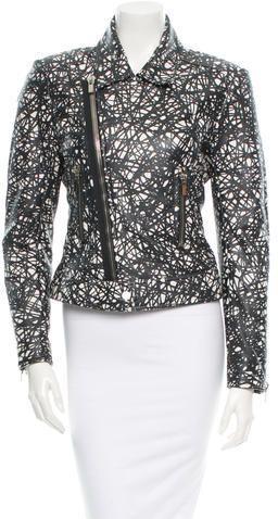 Balenciaga Leather Moto Jacket