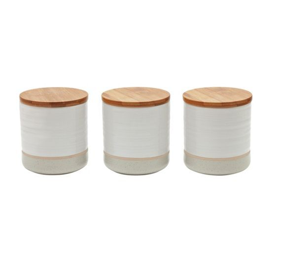 Buy Heart of House Purton 3 Piece Kitchen Storage Set at Argos.co.uk - Your Online Shop for Storage sets and utensil holders, Kitchen storage, Cooking, dining and kitchen equipment, Home and garden.