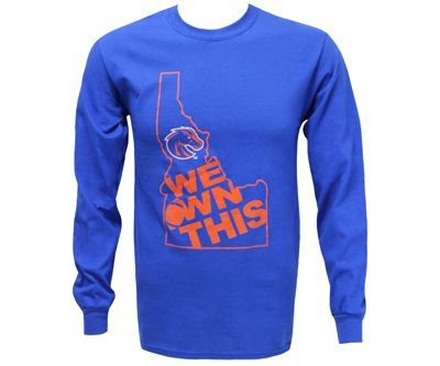 L/S Tee State Logo Own It | Boise State Bronco Shop