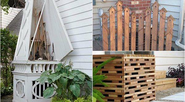 14 Creative Ways To Hide Your Air Conditioner Unit