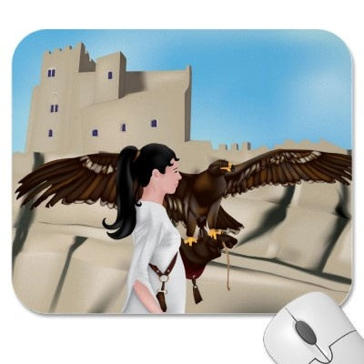 The Falconer mousepad! © crazycolors http://www.zazzle.com/the_falconer_mousepad-144032510548534152?rf=238953324715067423