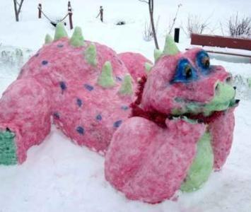 Конкурс снежных артобъектов · Администрация города Ливны